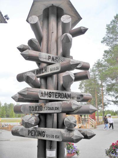 Rovaniemi - wo der Weihnachtsmann wohnt