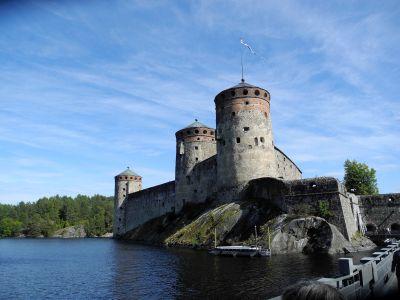 Savonlinna die Burg Olavinlinna