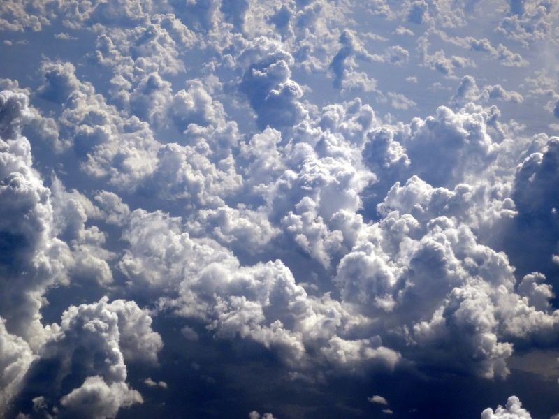 Über den Wolken..... Flug nach Palermo