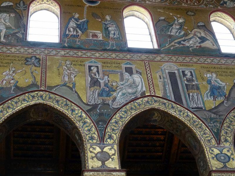 byzantinische Goldgrund-Mosaike